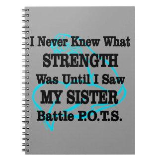 Muscle/I kannte nie… Schwester Notizblock