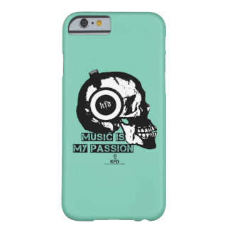 music is my passion barely there iPhone 6 hülle