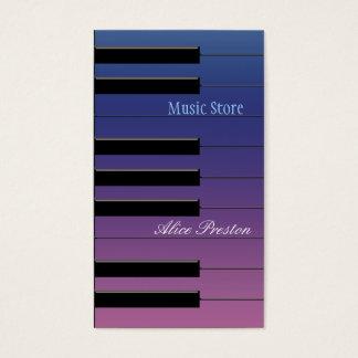 Music Store - Visitenkarte