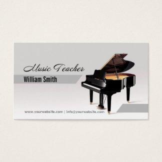 Music Teacher Visitenkarte