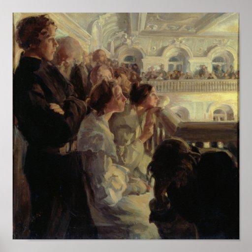 Musik, 1902-03 plakatdrucke