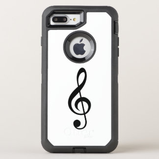 Musik-Anmerkung OtterBox iPhone 7 OtterBox Defender iPhone 8 Plus/7 Plus Hülle