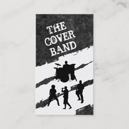Musik Band Kontakt Karten Visitenkarte Zazzle De