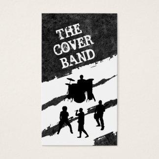 Musik-Band-Kontakt-Karten Visitenkarte