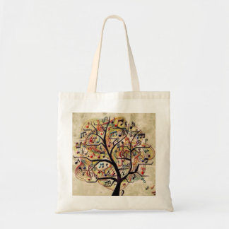 Musik-Baum-Budget-Tasche Tragetasche