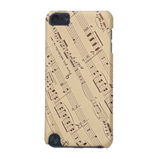 Musik-Blattipod-Touch-Speck-Kasten iPod Touch 5G Hülle
