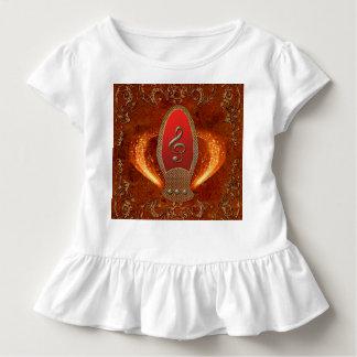 Musik, Clef gemacht vom Diamanten Kleinkind T-shirt