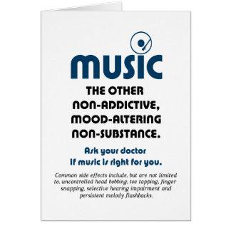 Musik: Das andere nicht-süchtig machende, Karte