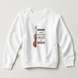 Musik das universelle Sweatshirt der Sprachen|