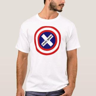 Musik-Denim-Patriot T-Shirt