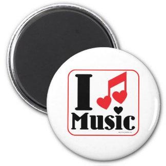 Musik der Liebe I! Runder Magnet 5,1 Cm