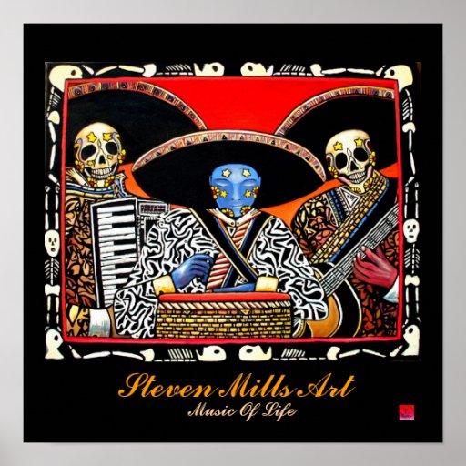 Musik des Lebens Posterdrucke