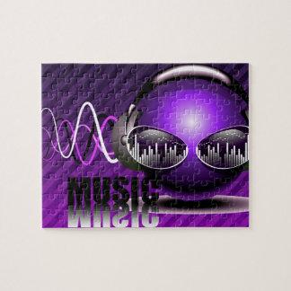 Musik, die in meine Ohren pumpt Puzzle