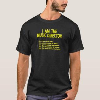 Musik-Direktor Regeln T-Shirt