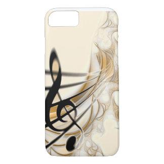 Musik - dreifacher Clef iPhone 8/7 Hülle