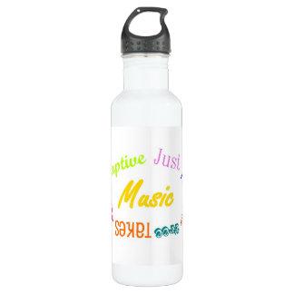 Musik… Edelstahlflasche