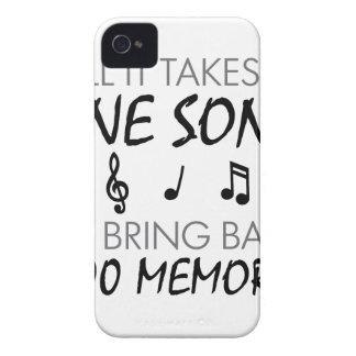 Musik-Erinnerungen iPhone 4 Hülle