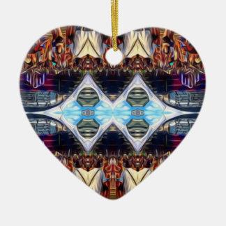Musik-Festival Keramik Herz-Ornament