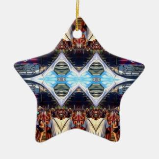 Musik-Festival Keramik Stern-Ornament