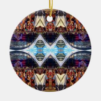 Musik-Festival Rundes Keramik Ornament