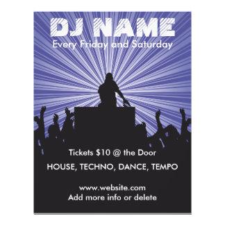 Musik-Flyer DJ-Namen-2