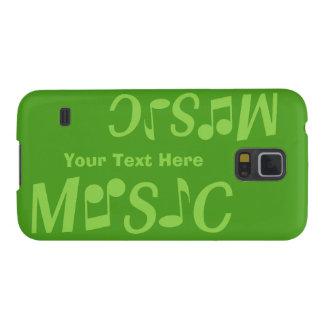 MUSIK-Gewohnheits-Hüllen Galaxy S5 Hüllen