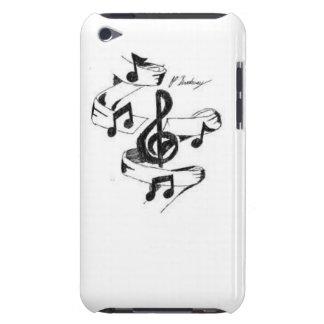 Musik gezeichnet iPod Case-Mate case