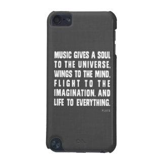 Musik gibt ein Soul zum Universumipod-Kasten