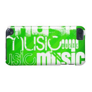 Musik; Grüne Neonstreifen iPod Touch 5G Hülle