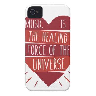 Musik-Heilen iPhone 4 Hülle