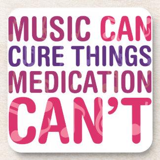 Musik-Heilung Getränkeuntersetzer
