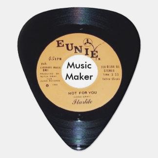Musik-Hersteller-Auswahl Plektron