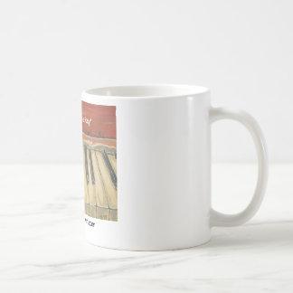 """""""Musik ist das Schlüssel """" Kaffeetasse"""