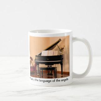 Musik ist die Sprache der Engel Haferl