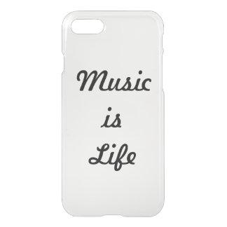 Musik ist Leben iPhone 8/7 Hülle