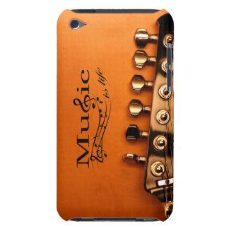 Musik ist Leben mit Gitarren-Maschinen-Kopf Case-Mate iPod Touch Hülle