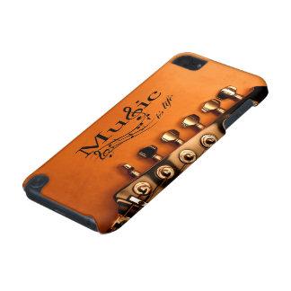 Musik ist Leben mit Gitarren-Maschinen-Kopf iPod Touch 5G Hülle
