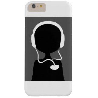 Musik ist Leben - Telefon-Kasten Barely There iPhone 6 Plus Hülle
