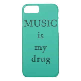 Musik ist mein Droge IPhone 7Plus Fall iPhone 8/7 Hülle