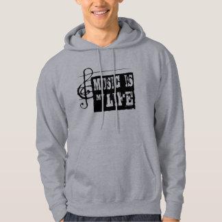 Musik ist mein Leben 2 Kapuzenpulli