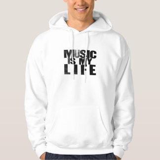 Musik ist mein LebenHoodie Hoodie