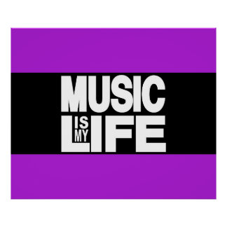 music is my life poster-designs | zazzle.de, Hause ideen