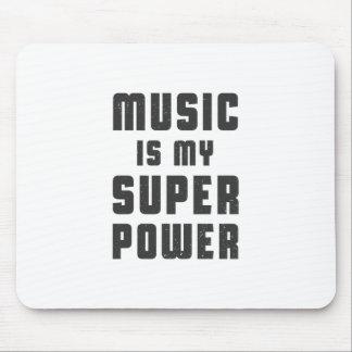 Musik ist meine Supermacht Mauspad