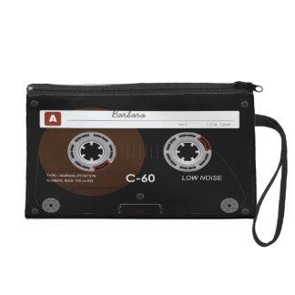 Musik-Kassette MixTape Wristlet Mädchen DJ Retro