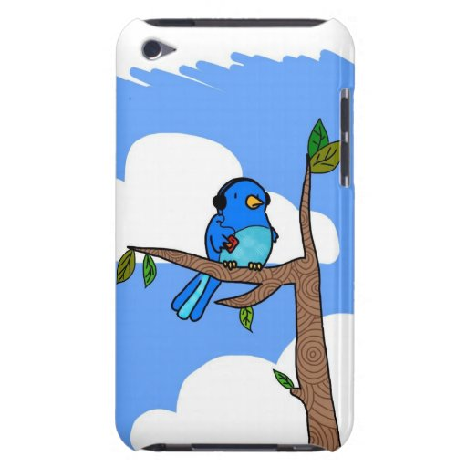 Musik-Kenner Birdy iPod Touchfall Barely There iPod Case