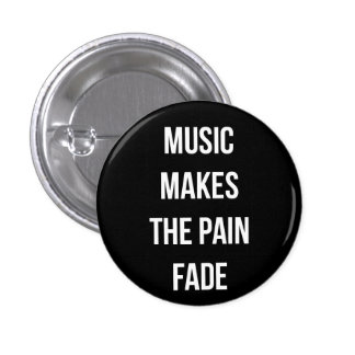Musik-Knopf Runder Button 3,2 Cm