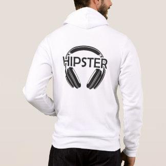 Musik-Kopfhörer-Hipster Hoodie