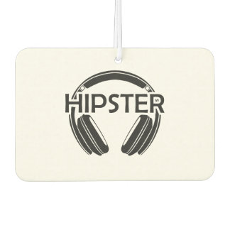 Musik-Kopfhörer-Hipster Lufterfrischer