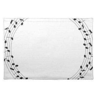 Musik-Kreis Tischset