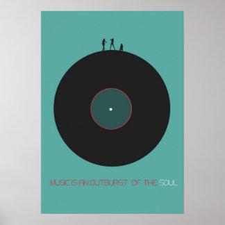 Musik-Kunst Plakat